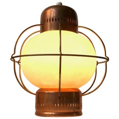 Midcentury Nautical Pendant Lamp from Lyfa, 1960s