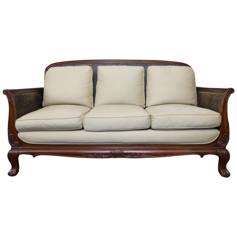 Anglo Indian Colonial Style Mahogany