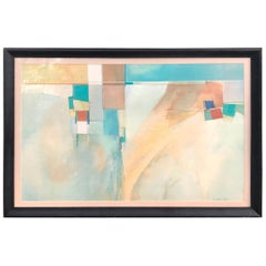 Midcentury Abstract Print by R. Anthony Askew