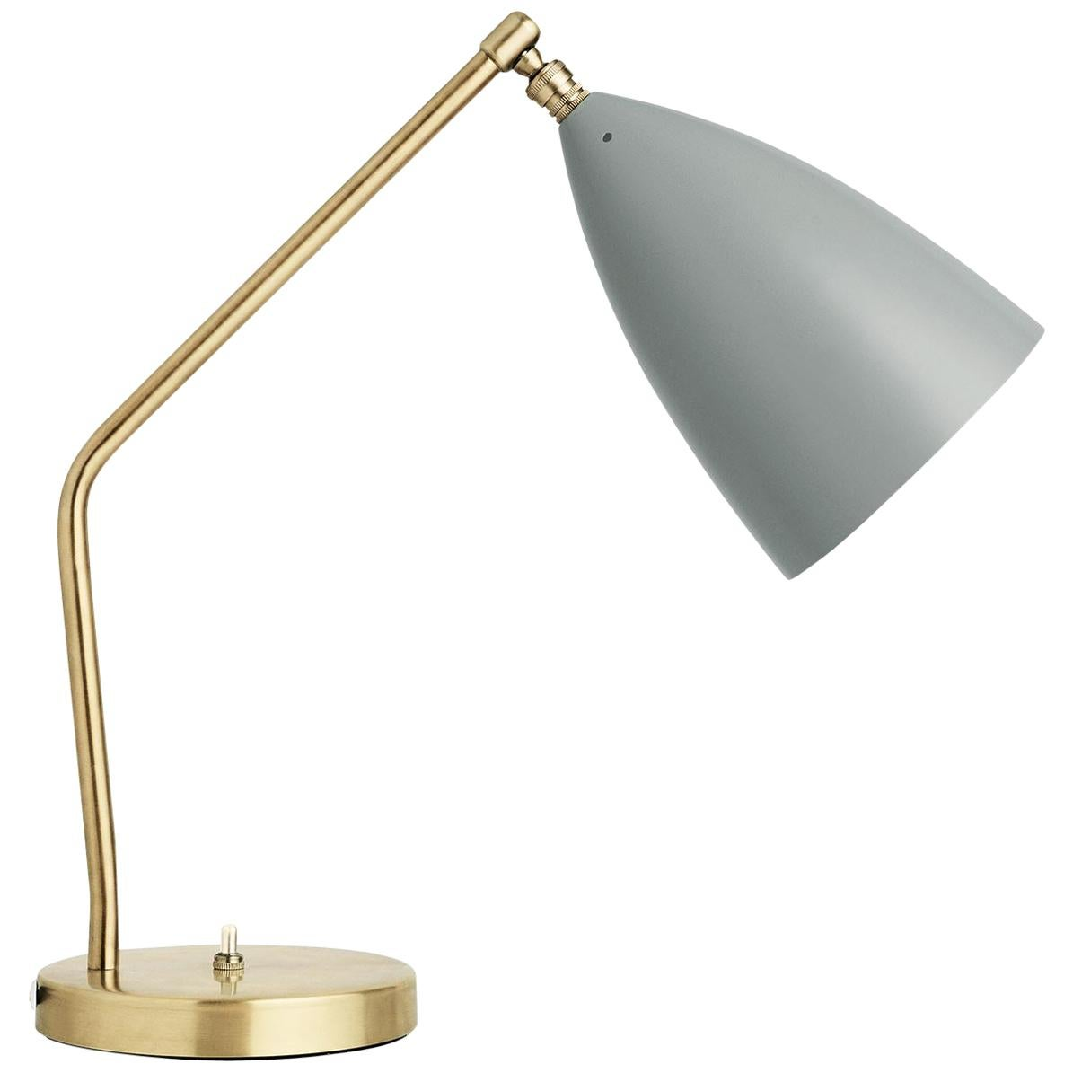 Greta Grossman Grasshopper Table Lamp, Blue Grey