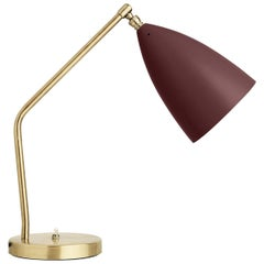 Greta Grossman Grasshopper Table Lamp, Andorra Red