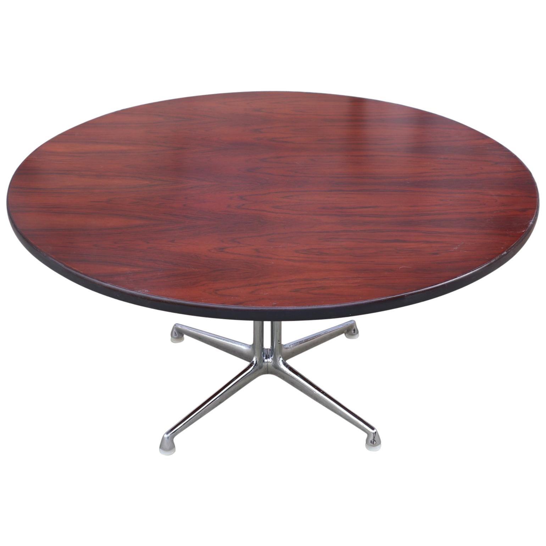 Eames La Fonda Coffee Table in Rosewood for Herman Miller