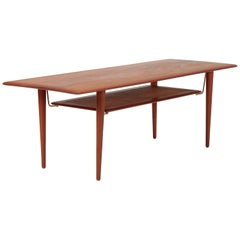 Hvidt & Mølgaard Coffee Table FD 516 France & Son, 1960s
