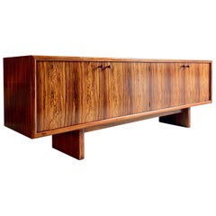 Rosewood Sideboard Credenza Buffet Gordon Russell Martin Hall Marlow Range, 1970