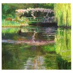 Monet's Bridge by Laurent Dareau