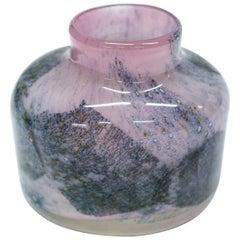 Benny Motzfeldt Midcentury Hand Blown Glass Vase for Plus