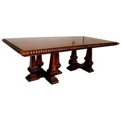 Palatial Ralph Lauren Marseillies Dining Pedestal Table