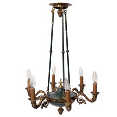 Antique French Chandelier, 1940s