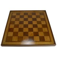 Antique English Chess Board, circa 1915