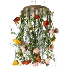 Flower Power Poppy Chandelier, cm h 80 d 60, Italy
