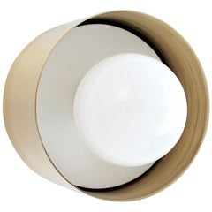 Spun Sconce Flush Mount Brass, 1stdibs New York