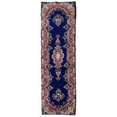 Handmade Antique Kerman Style Runner, 1930s, 1B710