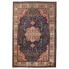 Handmade Antique Tabriz Style Rug, 1920s, 1C409