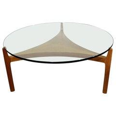 Danish Modern Sven Ellekaer for Christian Linneberg Teak Coffee Table