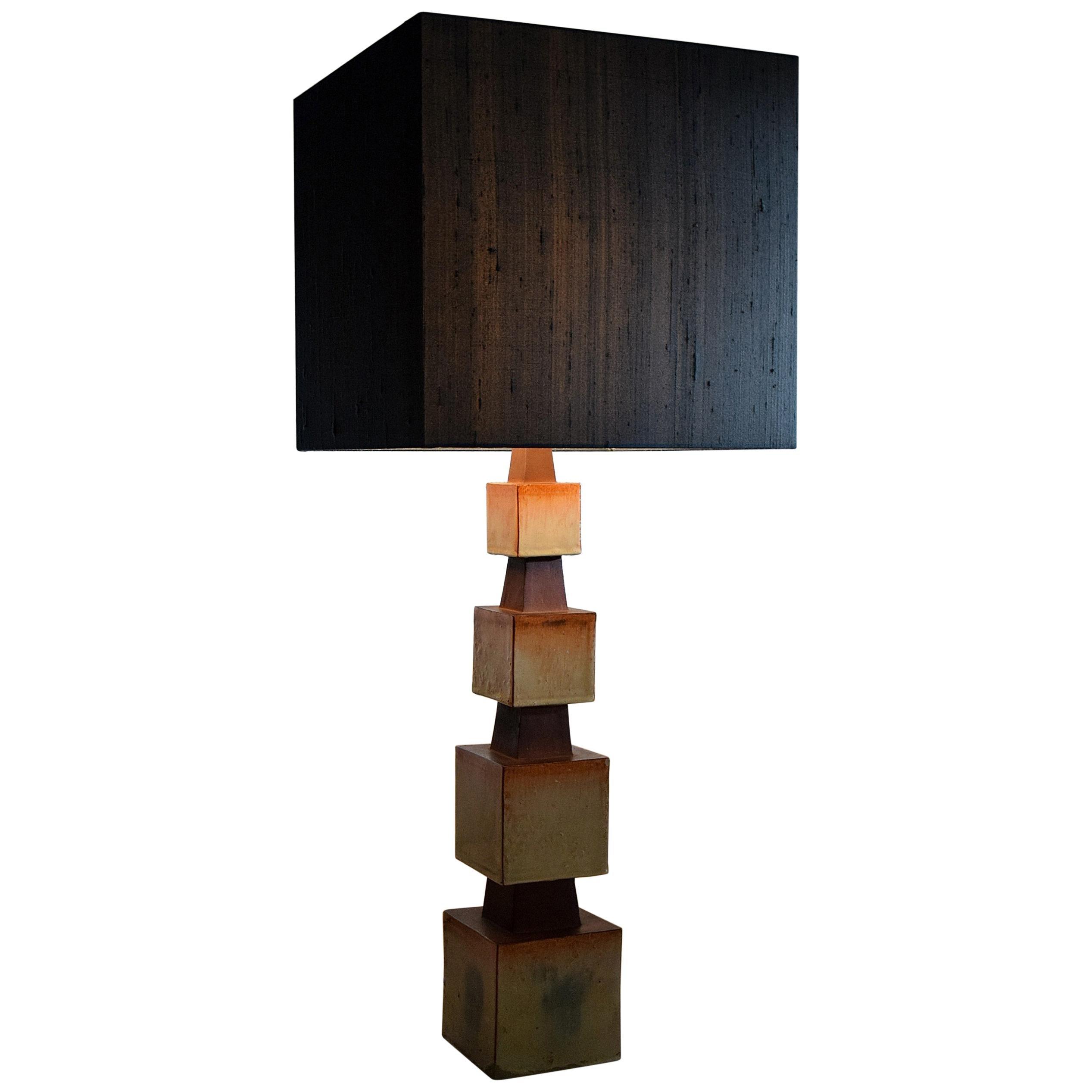 Unique Midcentury Ceramic Table Lamp