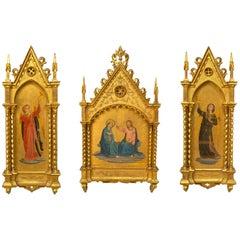 Italian Renaissance Style Triptych