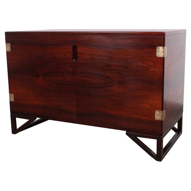 Rosewood Cabinet by Svend Langkilde For Sale