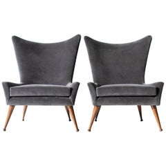 Ben Seibel Lounge Chairs for Stand Built Furniture Corp