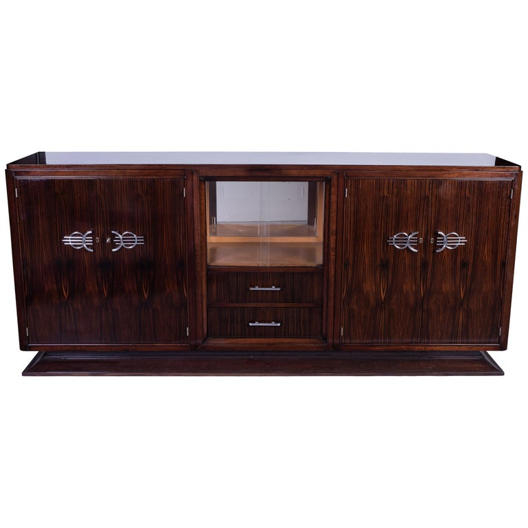 French Art Deco Buffet or Sideboard For Sale