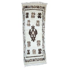 Vintage Moroccan Rug, Berber Moroccan Rug with Tribal Style