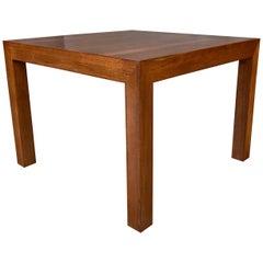 Milo Baughman for Thayer Coggin Walnut Occasional Table