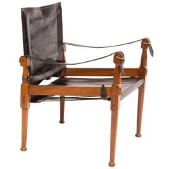 Midcentury Safari Chair by M. Hayat & Brothers