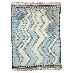 Contemporary Moroccan Rug with Modern Bauhaus Style, Berber Moroccan Area Rug