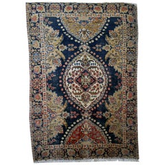 Handmade Antique Malayer Style Rug, 1920s, 1B26