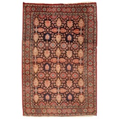 Handmade Antique Bidjar Style Rug, 1930s, 1C289