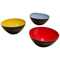 Suite of Herbert Krenchel Bowl for Torben Orskov