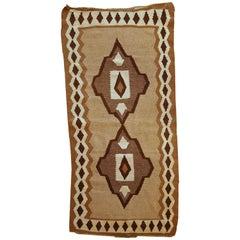 Handmade Antique Ardabil Style Kilim, 1920s, 1C299