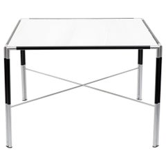 Dining Table with Faux Marble Top, circa 1970