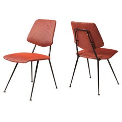 Set of Four Dining Chairs by Gastone Rinaldi, Italy, 1956