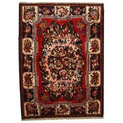 Handmade Vintage Bakhtiari Style Rug, 1970s, 1C315