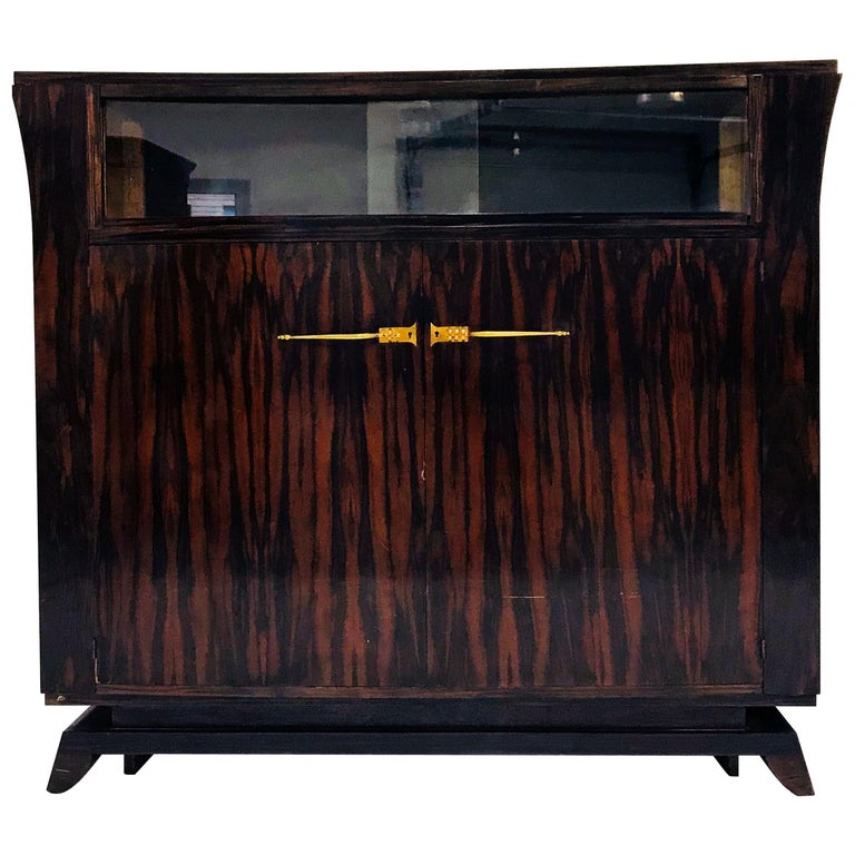 Circle of / Follower of Jacques-Emile Ruhlmann, Art Deco Sideboard, 1920s For Sale