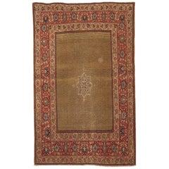 Handmade Antique Tabriz Style Rug, 1900s, 1B152