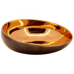 Handgemachte Cast Bronze indischen Schüssel, Vide-Poche
