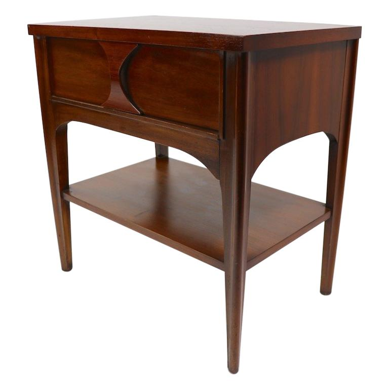 Perspecta Nightstand by Kent Coffey For Sale