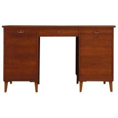 Original Writing Desk Midcentury Teak Classic