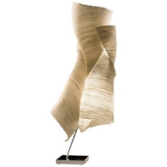 """""""Ysmen"""" Table Lamp in Paper by Dagmar Mombach for Ingo Maurer"""