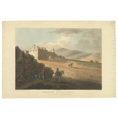 Antique Print of Joseph's Well by Spilsbury, 1803