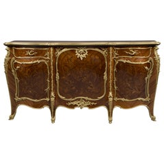 Louis XV Style Marquetry Inlaid Commode by François Linke, circa 1900