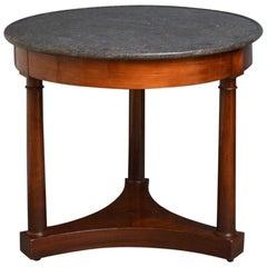 French Mahogany Gueridon Table