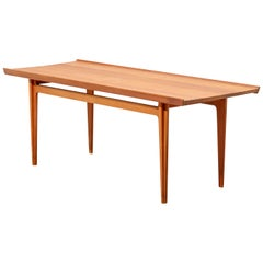 Solid Teak Coffee Table, Model 532, by Finn Juhl for France & Son