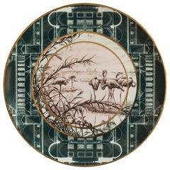 Lebanon Porcelain Dinner Plate, Made in Italy