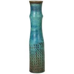 Midcentury Stoneware Vase by Stig Lindberg