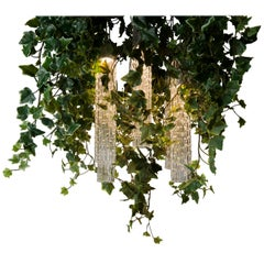 Flower Power Ivy Chandelier, cm h 80 65x65, Italy