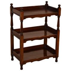 19th Century English Mahogany Shelf