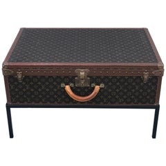 Louis Vuitton Trunk on Stand, Large
