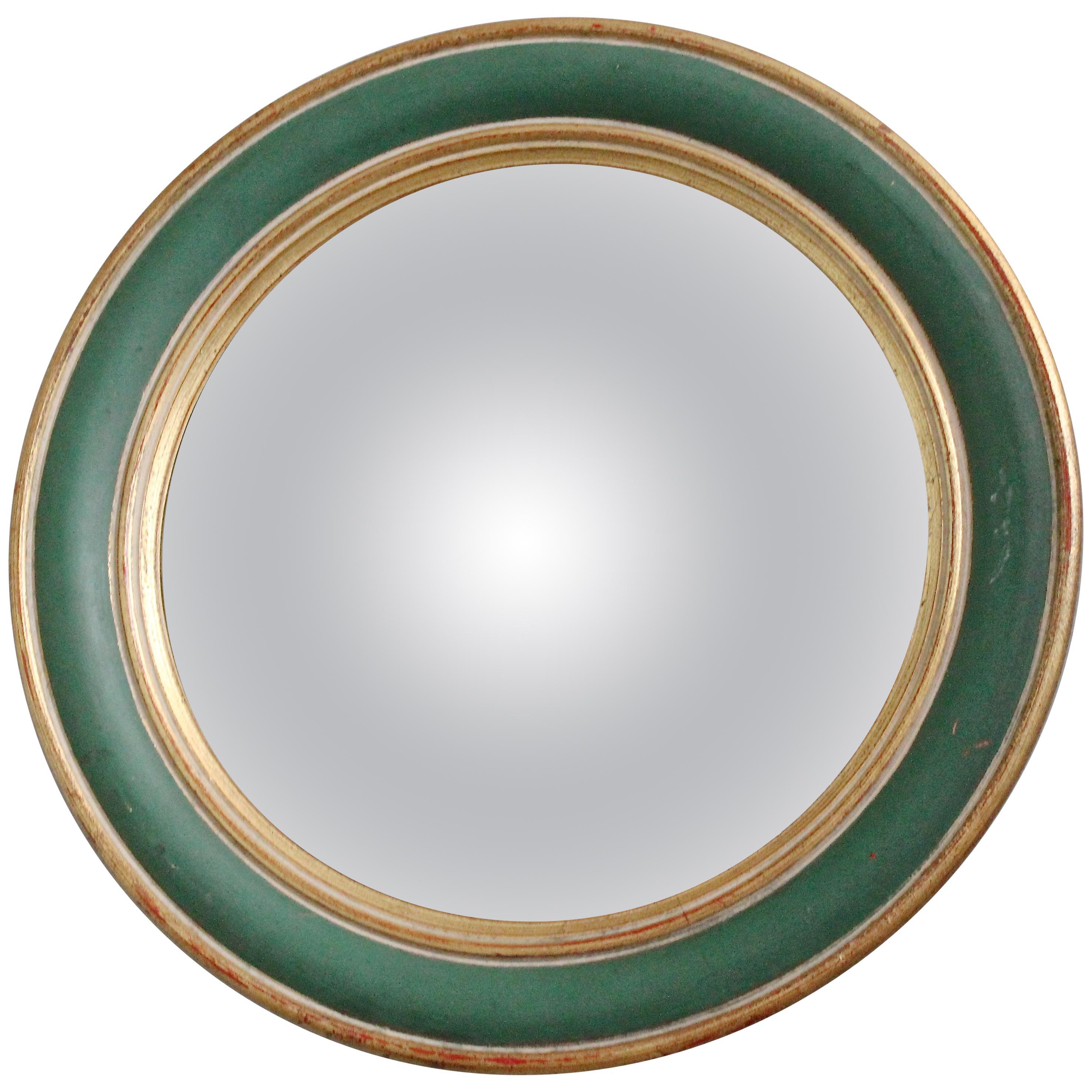1930s French Bullseye Mirror